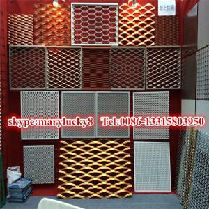 China Anodized aluminum expanded mesh/5052 Expanded aluminum mesh on sale