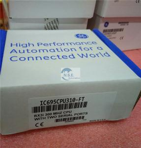 China General Electric IC695CPE310 CPU in the GE Fanuc PACSystem RX3i Series on sale