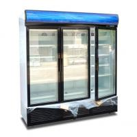 Energy Efficiency Commercial Display Freezer Open Top With Digital Elitech Thermostat