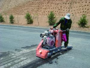 China Energy Saving Floor Planer Scarifier , Cement Groover Machine With Scarifier Teeth on sale
