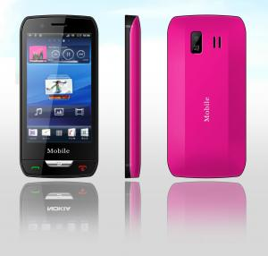 China A8 Android 2.2 Capacitive Screen Build-in Games Dual Sim Card Smart Phone  on sale