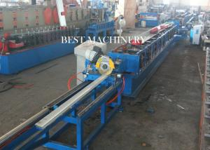 China Customized PU Foam Roller Shutter Door Roll Forming Machine With PLC Control on sale