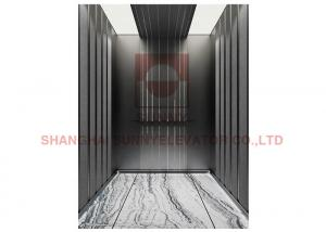 China 2.5m/S Center Opening Office Machine Room Less Elevator With DMPC on sale