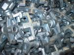 A gota do molde Accessories-Q235 forjou o equipamento do canteiro de obras da porca de asa, acessórios concretos do molde