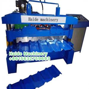 China ibr roll forming machine 15 rows of rollers with 5.5kw frequency converter, Chain Size1'' on sale