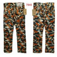 China Wholesale Newly T-R hip-hop camouflage leisure branded jeans of top quality,free shipping on sale
