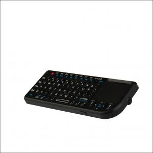 China Black / White small 2.4G Wireless Keyboard , cordless air keyboard mouse on sale