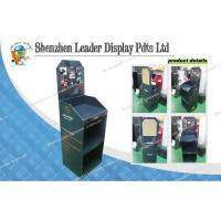 China Pop Up 3 Tiers Cardboard Display Shelf Waterproof for Brochure on sale