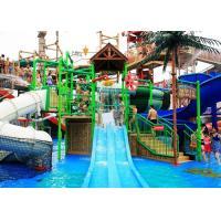 China Children / Adult Aqua Playground Equipment with 1 Year Warranty on sale