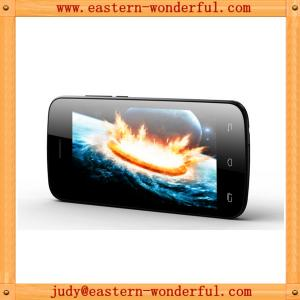 China Wholesale 4'' dual core mtk6572 clone android smart phones with 512/4G and WCDMA850/2100 on sale