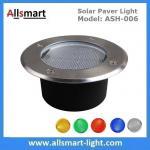 Φ130x60mm Round Solar Paver Lights Maintenance Free Solar Brick Lights Solar Underground In-ground Lights Waterproof