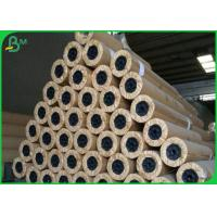China 80gsm CAD Plotter Paper Roll High Wear Resistance For Architectural Drawings on sale