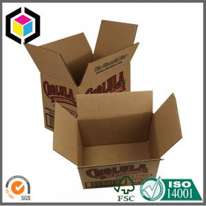China Single Black Color Custom Print Corrugated Carton Packaging Box Regular Case on sale