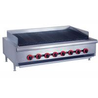 Counter Top Gas Char Broiler Durable Barbeque Gas Griller With Oil Collector