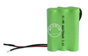 China ECO Low Self Discharge Nimh Battery Pack 700mAh 3.6volt Nimh AAA Cell on sale