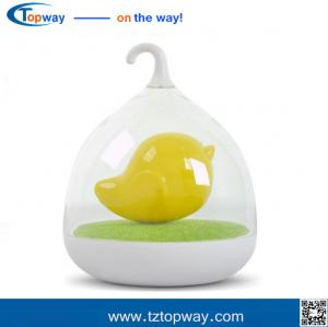 China Sensor switch Rechargable USB Bird Cage LED Night Lamp With Touch Dimmer on sale