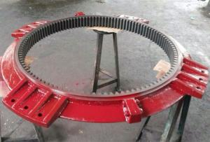 China Split Slewing Bearing/Slewing Gear for Water Processing on sale