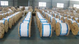 China ASTM B 498 5/16 1/4.3/8 1/2  Galvanized Steel Core Wire for ACSR Conductor on sale
