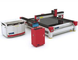 China EAAK CNC water jet cutting machine EK2030 for cutting metal stone glass on sale