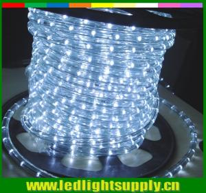 China cool clear white 2 wire led ultra thin neon flex rope lights on sale
