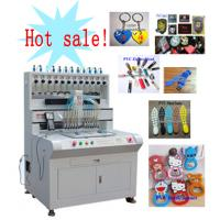 hot sell automatic dropping machine for soft pvc key chain