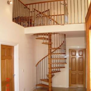 Quality China Factory Supplier Wood Spiral Stair Used Spiral Staircases For  Sale ...
