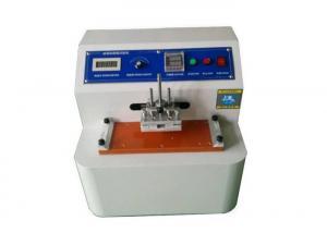 China Jd-3110 Ink Abrasion Testing Machine Test Piece Area Minimum Size 230×50mm on sale