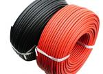 Oils Resistant TUV Solar Cable 6mm2 Stable Performance High Current Carrying Capacity