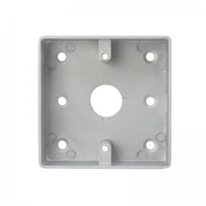 China European size frosted matt type back box for Access Control push button wholesale