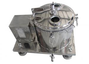 China Low temperature jacketed alcohol solution centrifuge equipment from China on sale