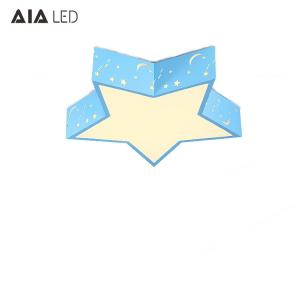 China Led color five star children's ceiling lamp nursery amusement park children's school classroom star ceiling light on sale