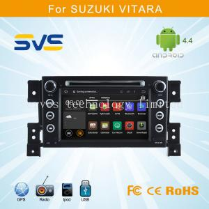 China Android car dvd player GPS navigation for Suzuki Grand Vitara multimedia player RDS AUX IN on sale