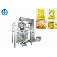Stainless Steel Banana Chips Production Line , Automatic Plantain Chips Making Machine