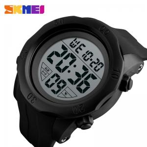 China branded products SKMEI silicone men digital sport wrist watch on sale