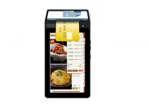 China Touch LCD Display POS Mobile Device , Portable Credit Card POS Terminal on sale