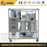 Hot selling Vacuum Used Hydraulic oil Processing Purifier Equipment