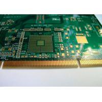 FR4 Epoxy Resin multilayer printed circuit board Green Solder Mask Copper 1OZ