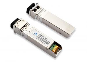 China Duplex LC 10G SFP+ Transceiver 100km 1550nm For  10GBASE-ZR / ZW Ethernet on sale