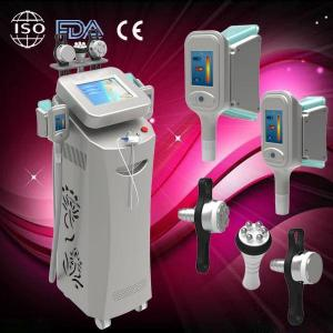China 2014Toppest Multifunctional 5 cryolipolysis fat loss equipment, vacumm RF cavitation on sale