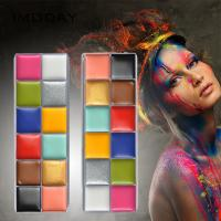 China Water Based Beauty Makeup Accessories Non Toxic Body Art Party Makeup Face Paint on sale