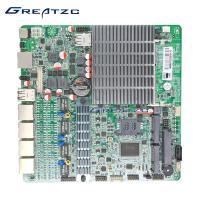 Dual Core Quad LAN Motherboard J1800 CPU With 4 Gigabit LAN DC Power