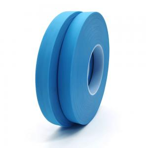 China 20mm*200m Blue Waterproof Non Woven Fabric Hot Air Seam Sealing Tape For Protective Suit on sale