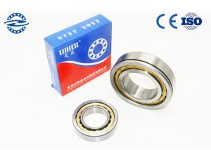 China Low Friction NJ210 Cylindrical Roller Bearing / GCR15 Material Flanged Bearing on sale