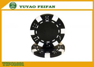 China Home Game 2 Blocks Dice Poker Chips ABS Poker Chips 11.5g Customized Color on sale