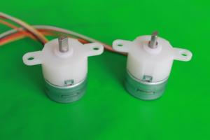 China 25mm PM stepper motors with permanent magnets / plastic or metal gears on sale