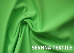 China Dyeable Spandex Nylon Stocking Fabric , Green Waterproof Nylon Fabric on sale