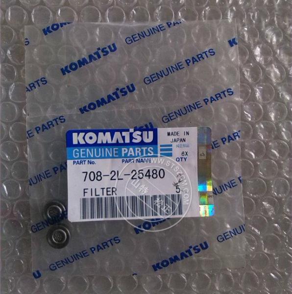 708-2L-25480 FILTER komatsu pc300-7 pc360-7 excavator parts for sale