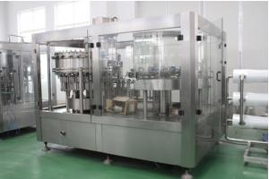 China Industrial Carbonated Drink Production Line 200ml - 2000ml Bottle For Soft Drink on sale