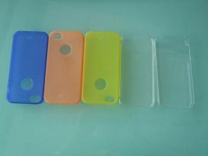 China Durable quality iphone 4 plastic phone covers, anti scratch and dustproof protective case on sale
