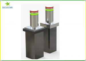 China Waterproof Automatic Traffic Bollards , Hydraulic Security Bollards 3-4S Lifting Time on sale